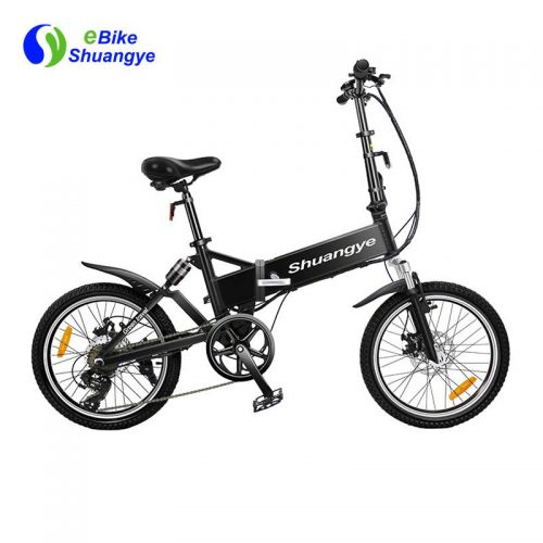 20 inch lightweight foldable smart electric bike