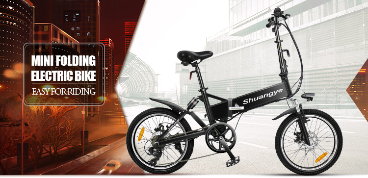 20 inch lightweight foldable smart electric bike0