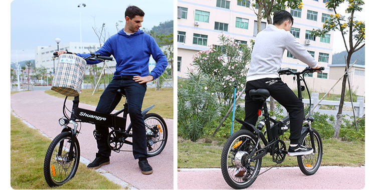 20 inch lightweight foldable smart electric bike10