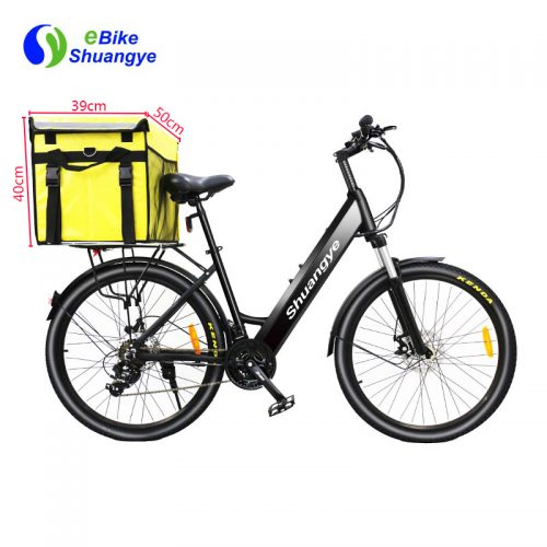 26″ 28″ Food delivery box electric bicycle moped