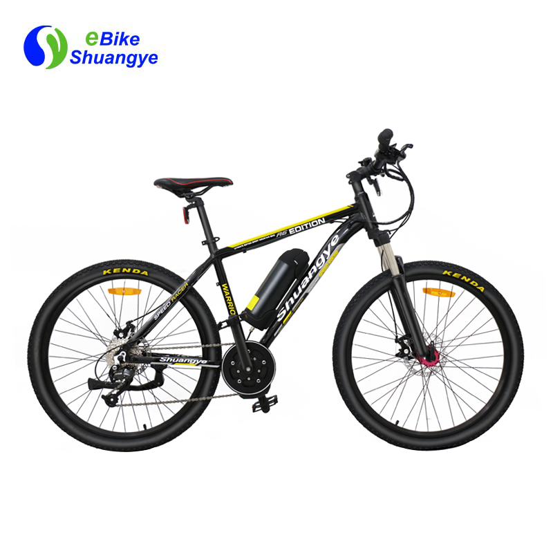 26 inch mid drive electric bikes for adults A6AB26MD
