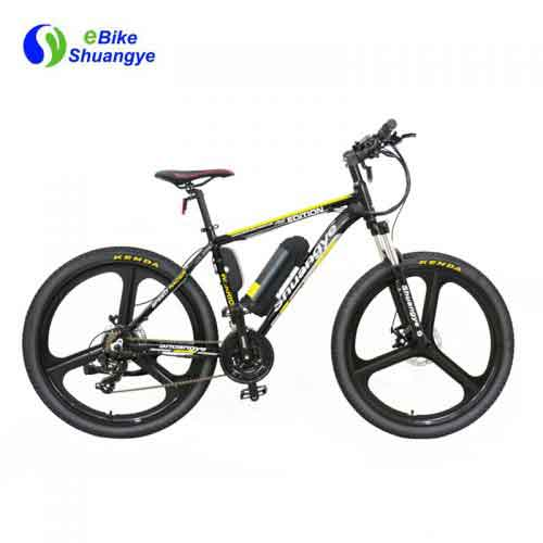 Magnesium alloy wheel electric bike mountain for sale A6AB26M