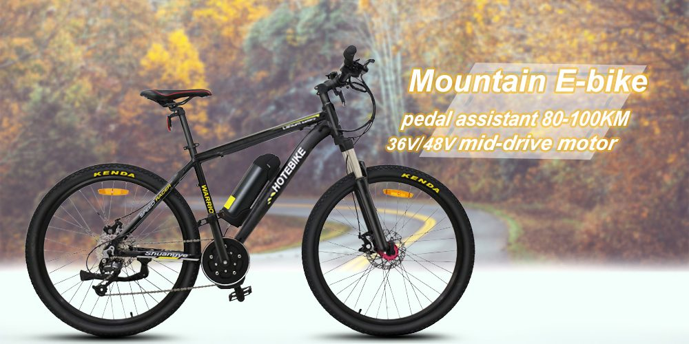 Power assist mountain e bike pedal assist mountain e bike