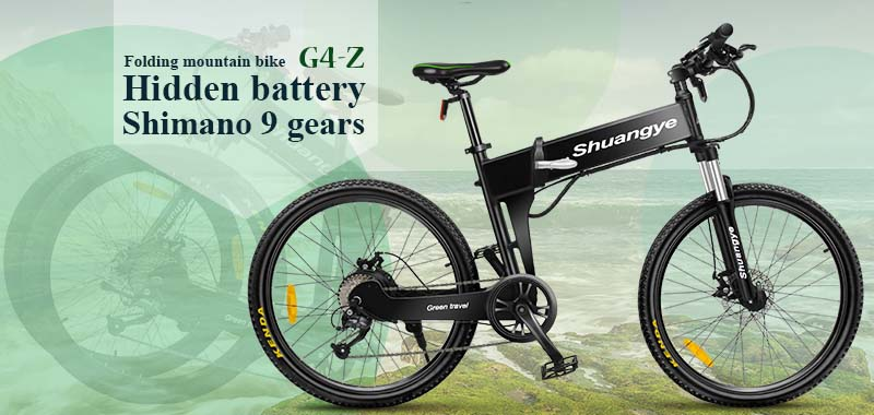 shimano electric folding mountainous bike G4-Z