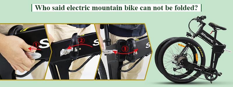 shimano electric folding mountainous bike G4-Z1