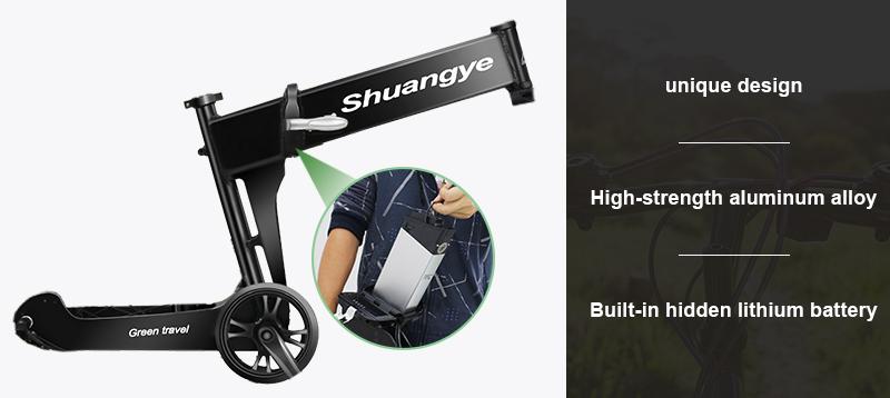 shimano electric folding mountainous bike G4-Z2