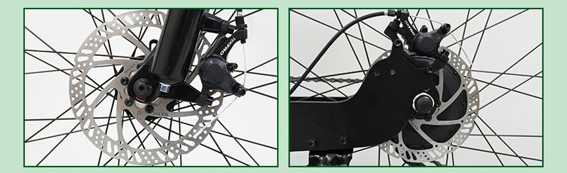 shimano electric folding mountainous bike G4-Z6