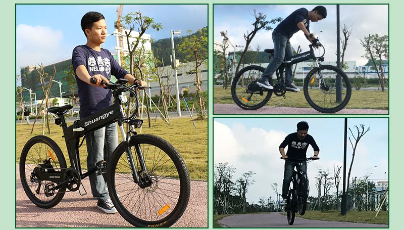 shimano electric folding mountainous bike G4-Z8