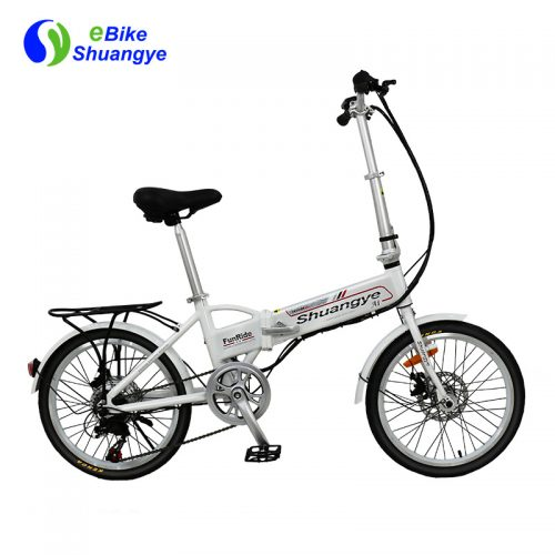 36V350W folding ladies electric vintage bicycles