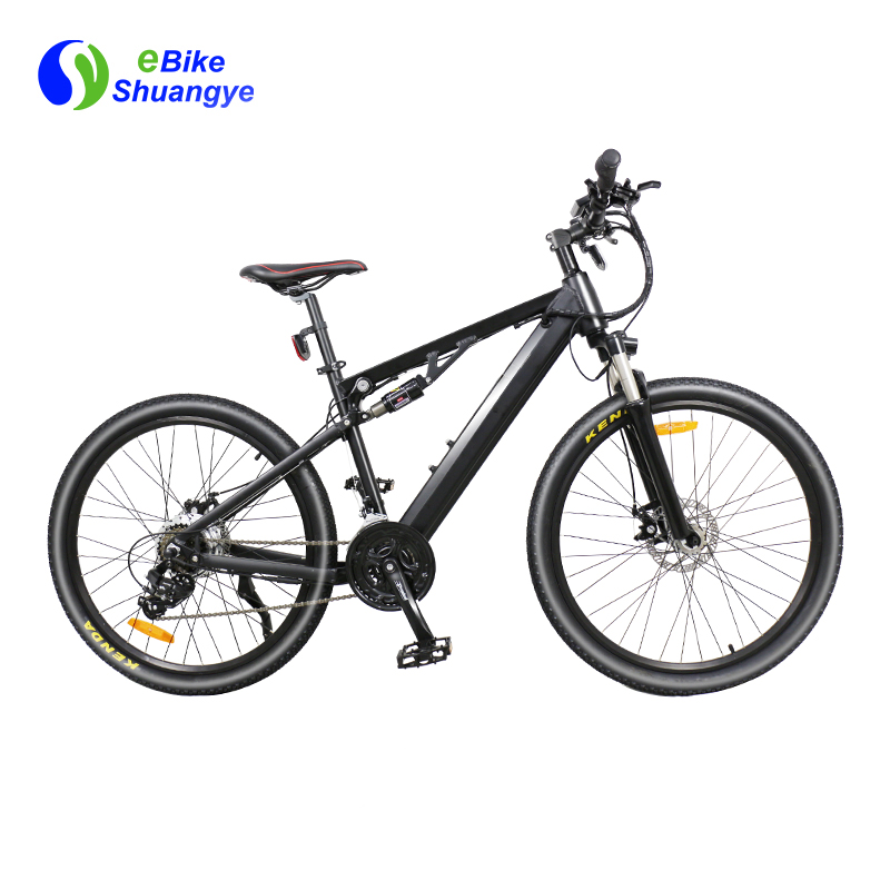 double suspension electric bicycle A6AH26-S