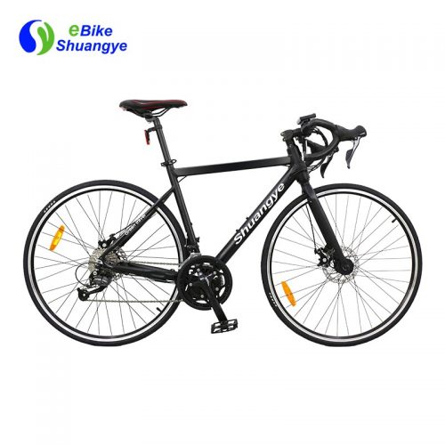 Hidden battery 18 speed electric road bicycle