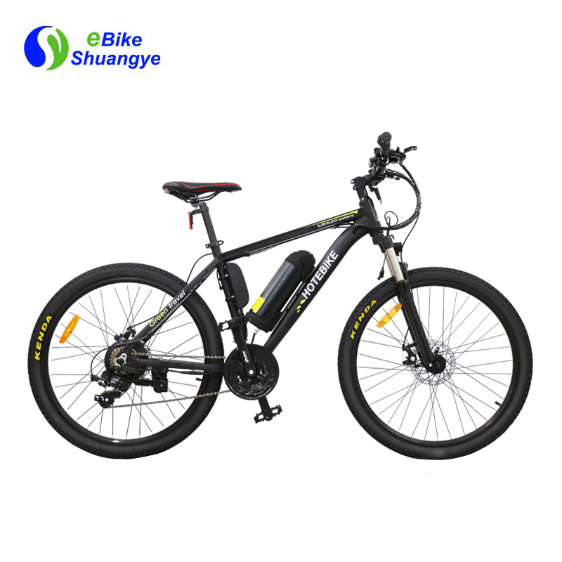 Classic mountain mens bicycle with electric motor A6AB26