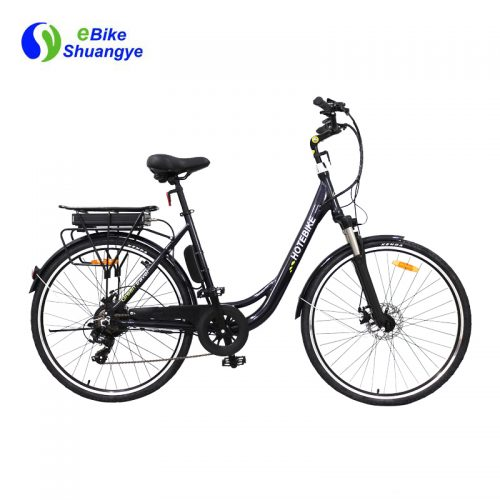 Classic affordable motorized electric bicycle