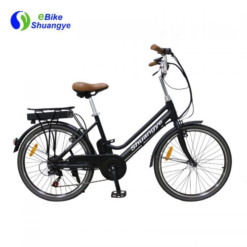 36V10AH comfortable city electric bicycles