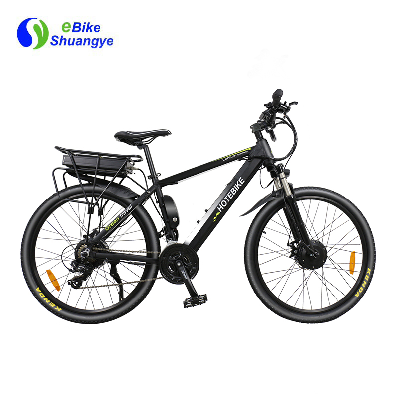 36V350W double motor powered bicycle A6AH26