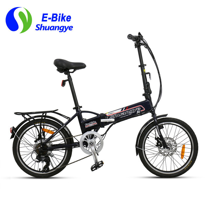 women folding electric bicycles A1-7