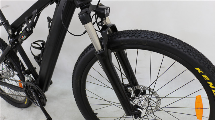 mountain bike with hidden battery