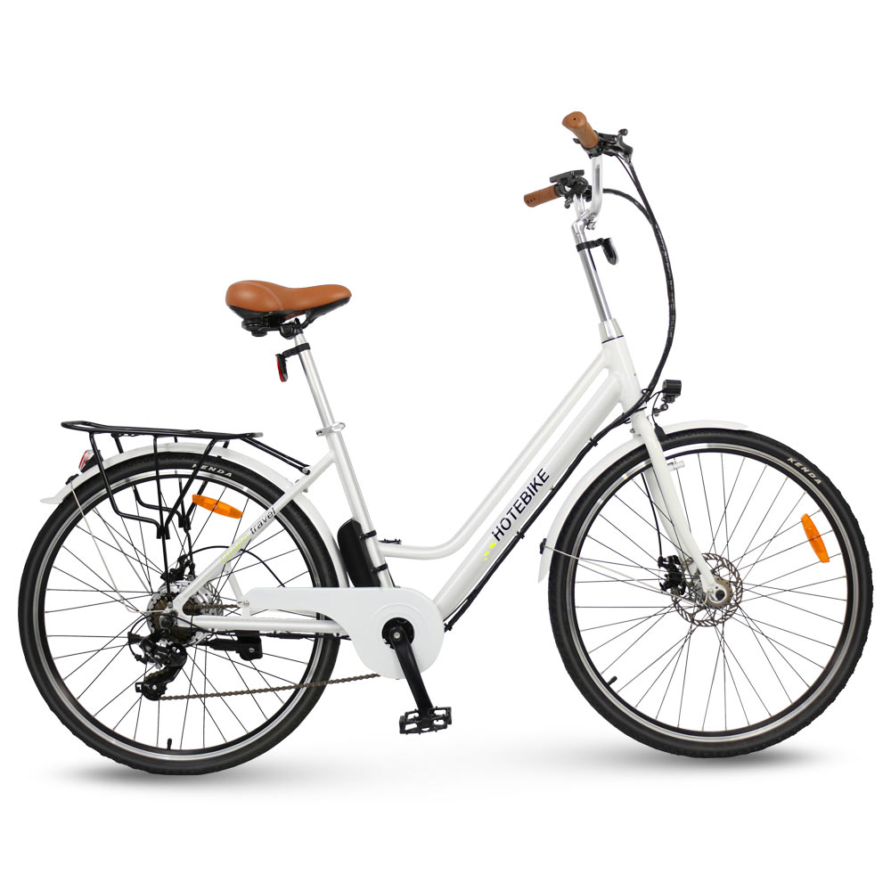 28 inches wheel retro women electric bicycle A3AL28