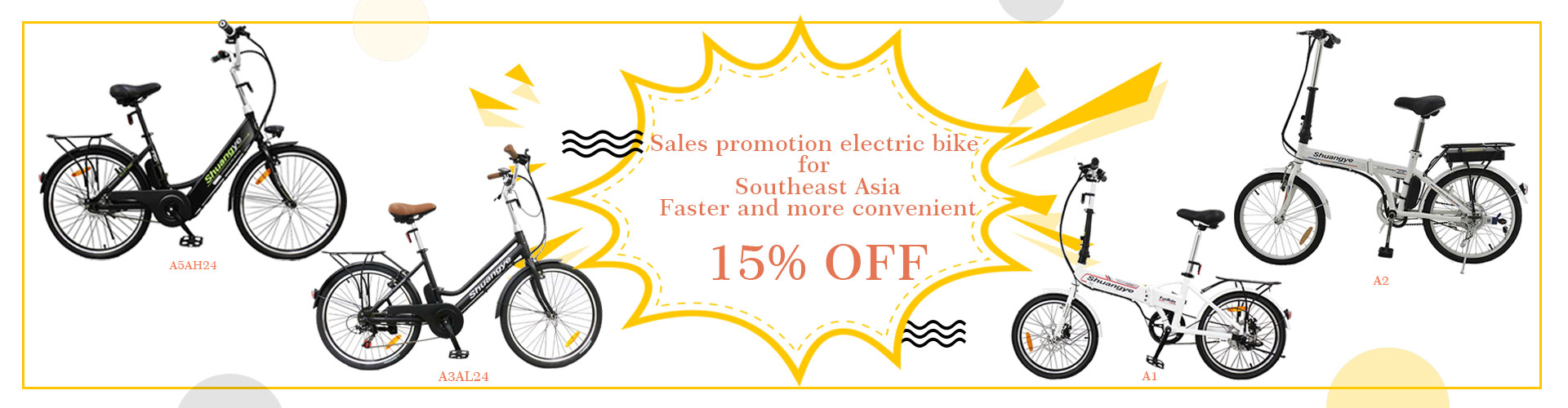 Sales promotion economic city electric bike for Southeast Asia