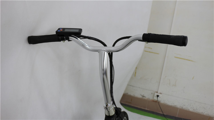 LCD display city ebike