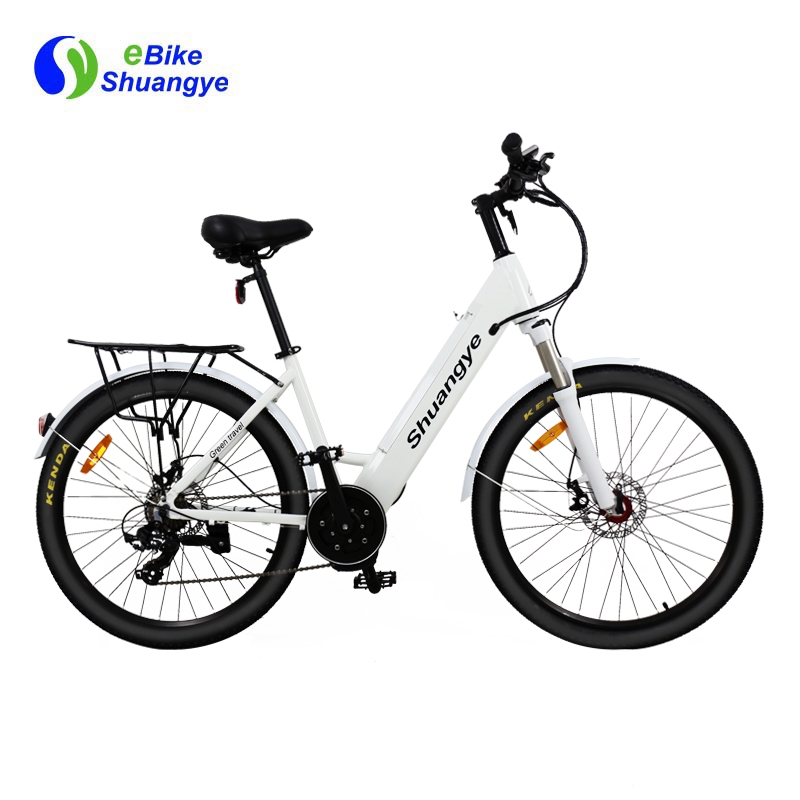 bafang mid drive motor electric mountain bicycle A5AH26MD