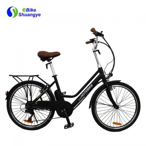 24V 10AH lady oem electric city bike on sale