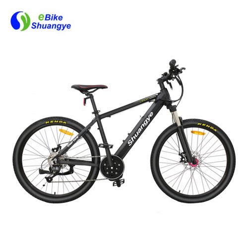 Mountain electric bike with bafang mid drive motor A6AH26MD