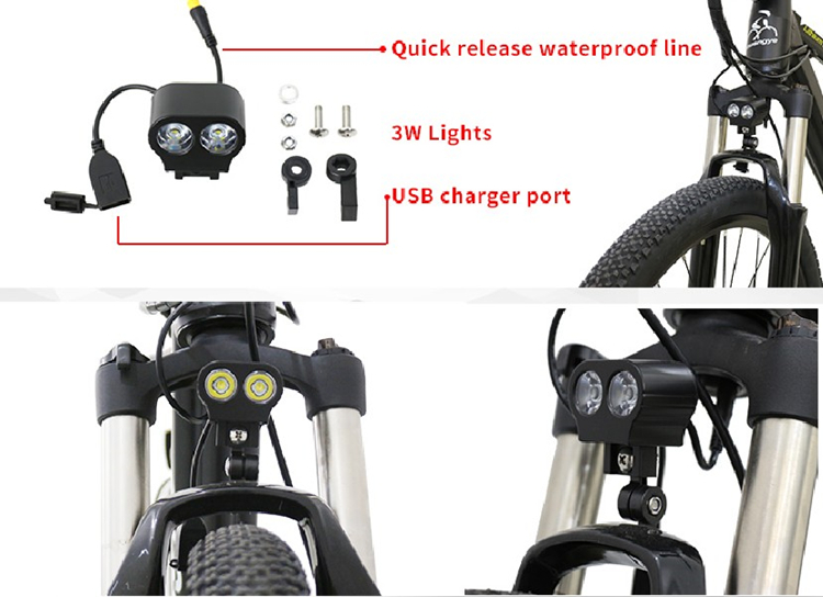 motorized bicycle electric