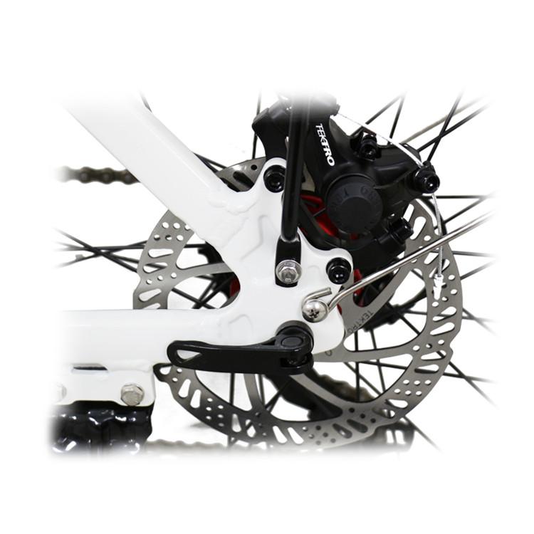 suspension electric mountain bike