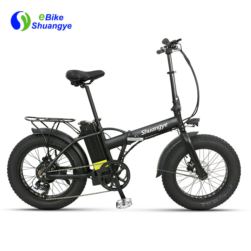 20 inch fat tire folding electric bicycle A7AM20