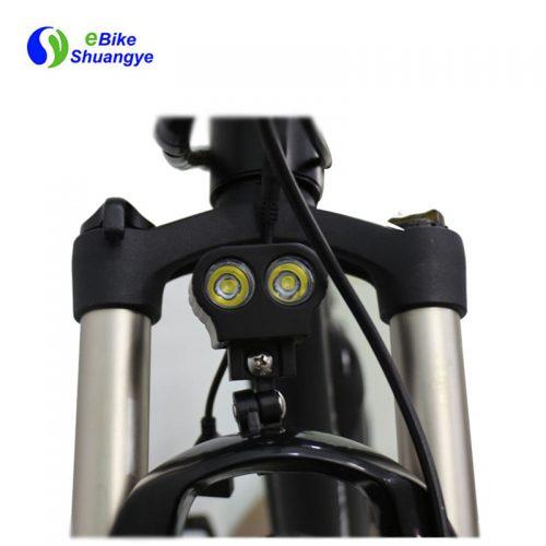Suspension front fork for electric bike