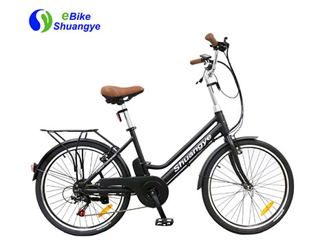 Economical and practical electric bicycle with motor for Panama