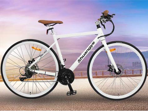 700*25C lightweight road electric bike video
