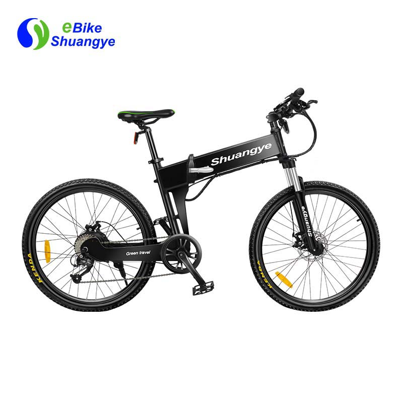 26 inch dual suspension discount folding electric bicycle G4-Z
