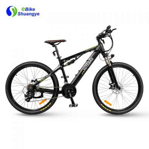Hotebike dual suspension electric bike
