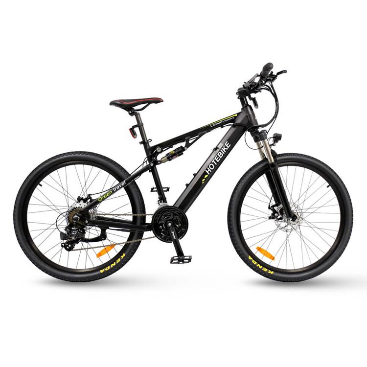 dual suspension electric bike