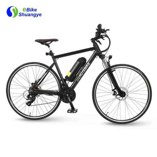 700C 21 speed 36V full suspension best electric road bike