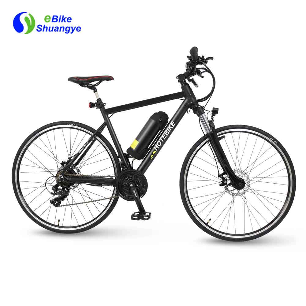 700C 21 speed 36V full suspension best electric road bike A6-R