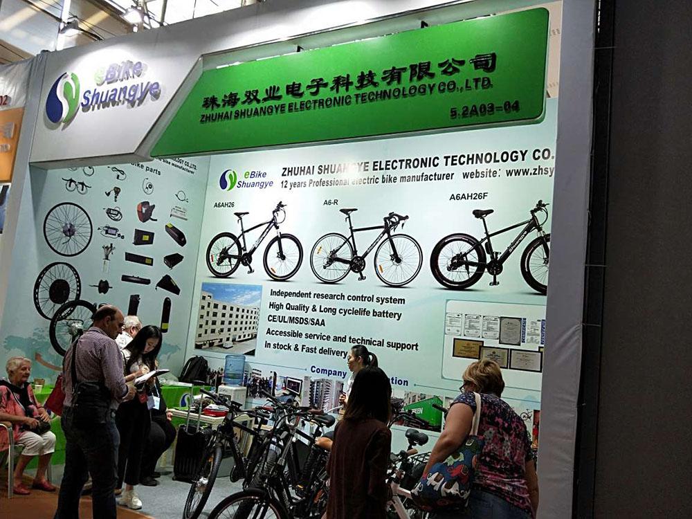 Canton Fair-shuangye electric bike