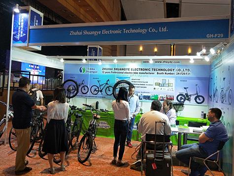 Shuangye Electric Bike in 2018 Hong Kong Electronics Fair (Autumn Edition)