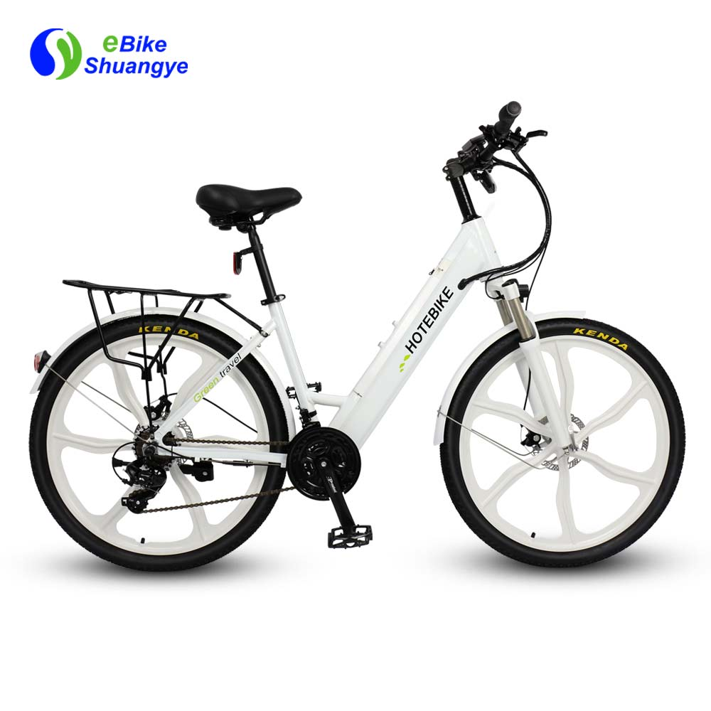 26 inch magnesium alloy wheel best women's electric bike A5AH26M