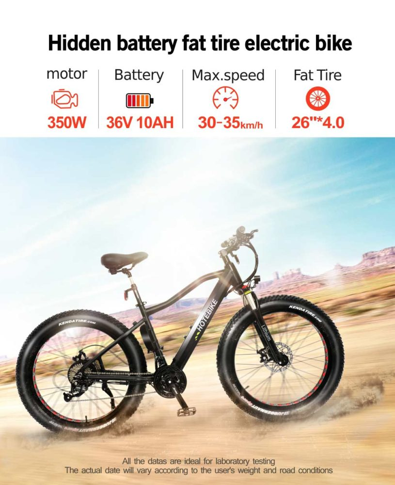 fat tyre electric cruiser bicycles