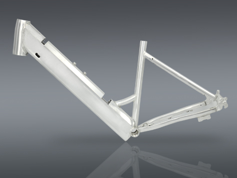 Aluminum alloy frame for green power electric bike A5AH26