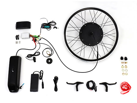 26 inch wheel electric bike kit with battery