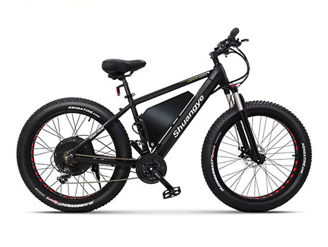 60V 2000W fat tire electric bicycle max speed 50km