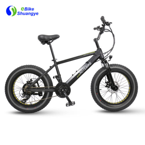 20 inch fat tire motorized bike for sale
