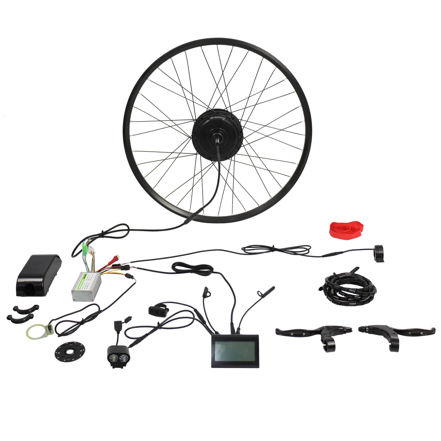 Best 48v 500w Electric Mountain Bike Kit Shuangye Ebike