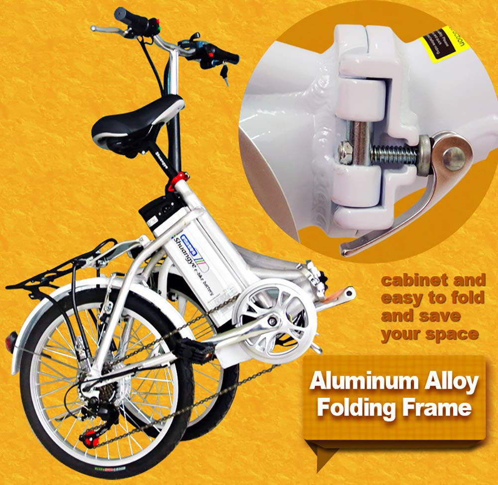 electric bike foldable