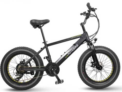 Fat tire electric mini bike for adults