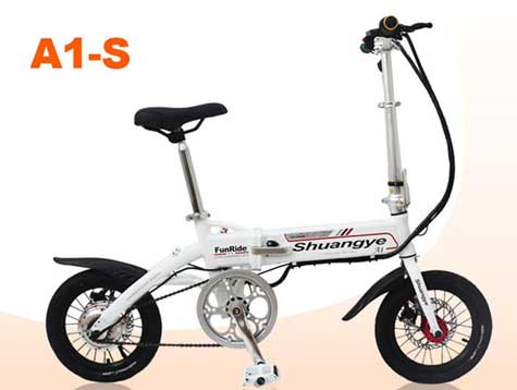 Electric mini bike for adult in 14 inch